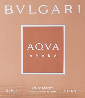 Verpackung Bvlgari Aqva Amara homme EdT